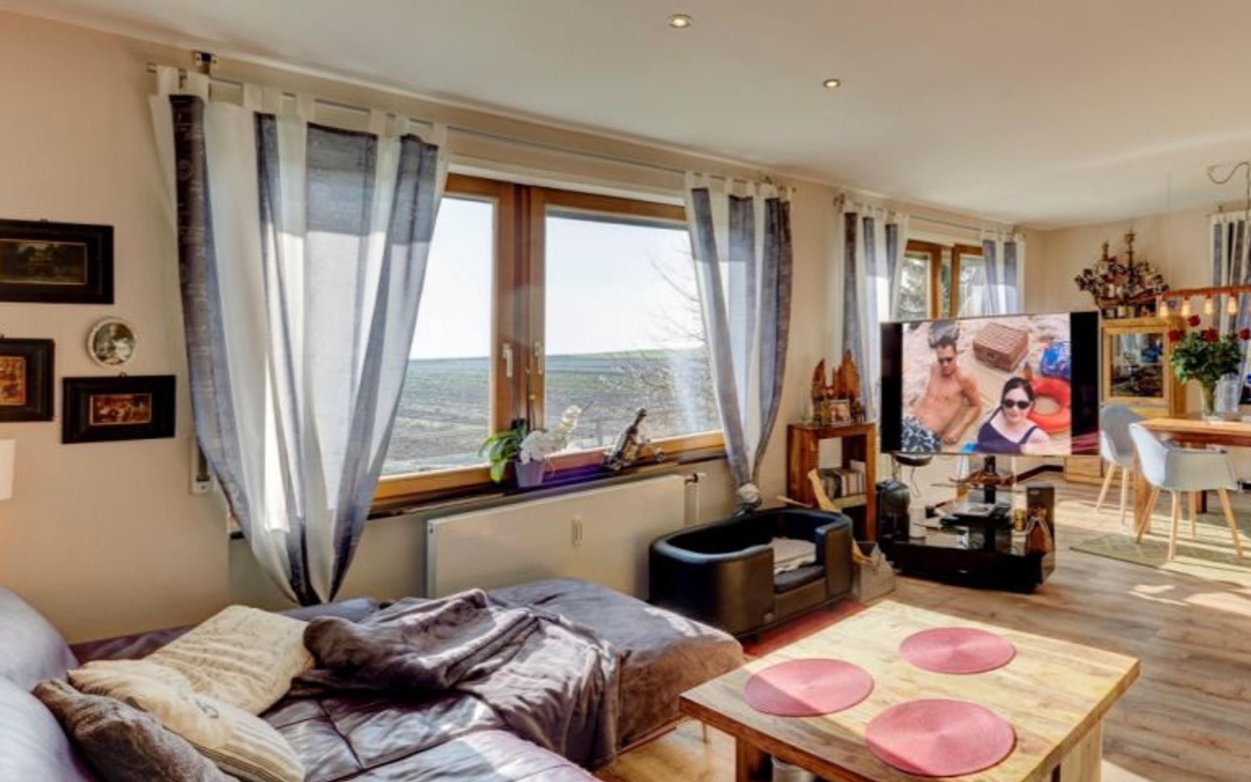 Großes Bad premium 2 zimmer apartment mit tv balkon küche grosses