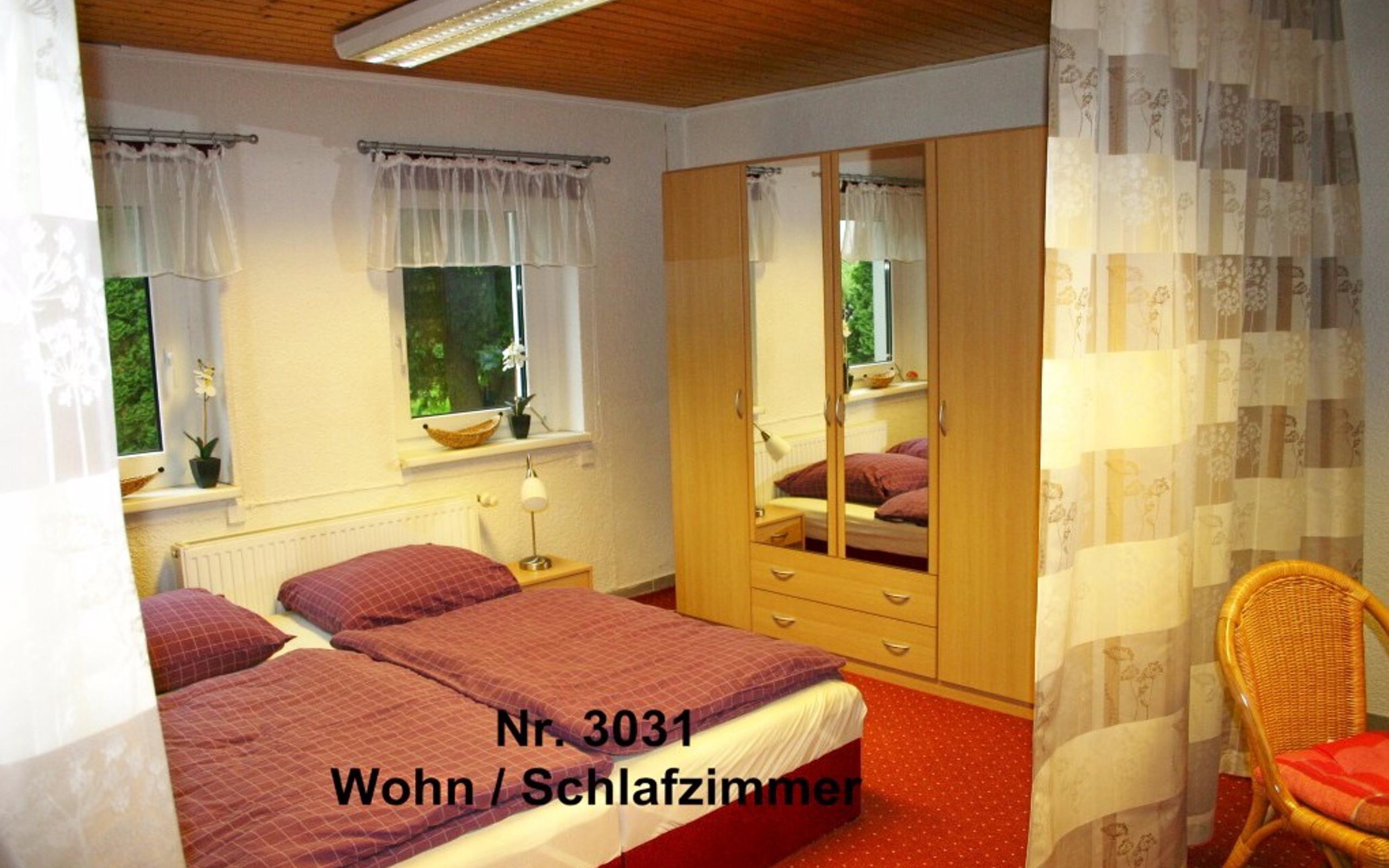 2-Zimmerwohnung als Haus für sich, TV, Schlafzimmer, Wohnzimmer, TV ...