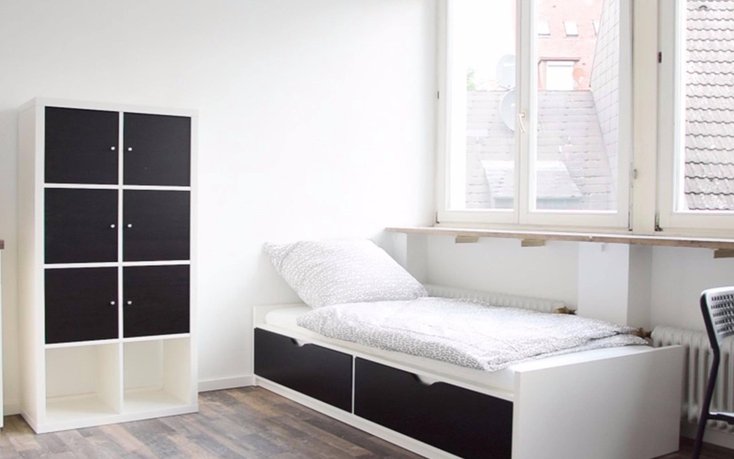 1 Zimmerwohnung Mit Tv Kuchenzeile Dusche Wc Internet